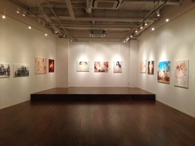 四艶少女画展 2015